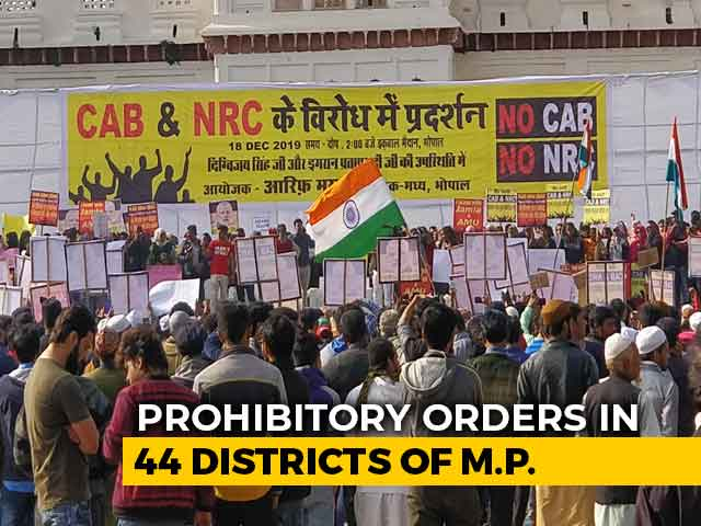 Video : Large Gatherings Banned In 44 Of 52 Districts In Madhya Pradesh
