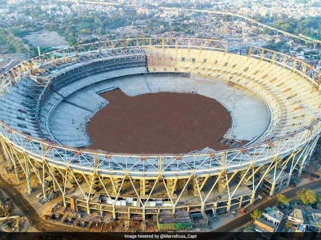 Worlds Biggest Cricket Stadium Takes Shape In Ahmedabad