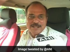 """His DNA Is Of Congress,"" Says Giriraj Singh About Adhir Ranjan Chowdhury"