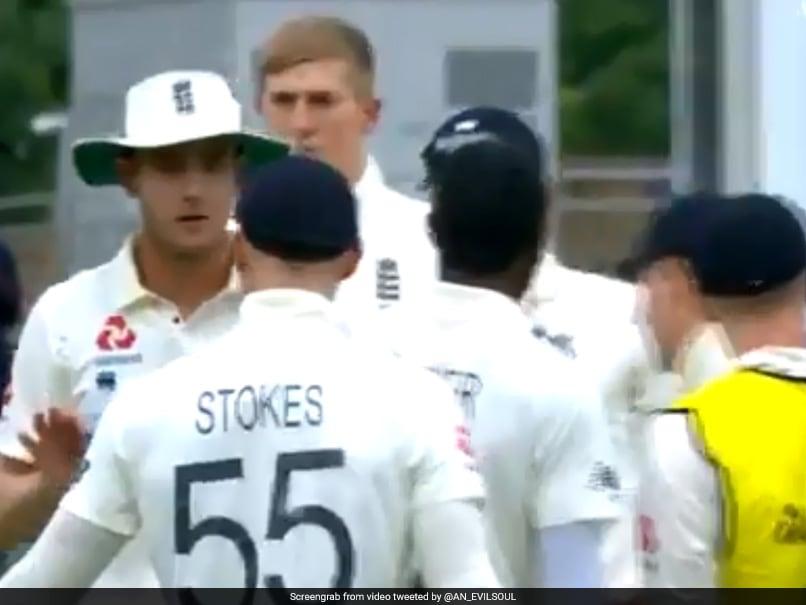 Watch: England Stars Ben Stokes, Stuart Broad Involved In On-Field Spat
