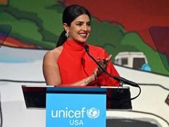 শিশু অধিকার নিয়ে কাজ করার জন্য UNICEF-এর বিশেষ পুরস্কার অভিনেত্রী প্রিয়াঙ্কা চোপড়াকে