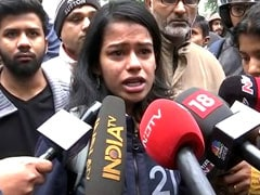 """I'm Not Even Muslim But Am At The Frontline"": Jamia Student Breaks Down"