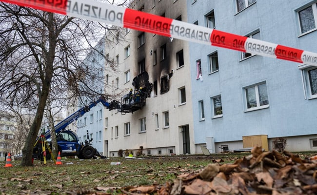 German Cops Found Munition, Gas Canisters Inside Building At Blast Site