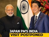 Video : Japan PM Shinzo Abe's India Visit Postponed Amid Citizenship Act Protests