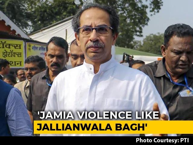 "Video : Uddhav Thackeray vs Devendra Fadnavis Over ""Jallianwala Bagh"" Remark"