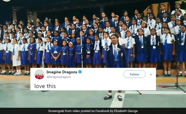 Video Of Bengaluru Students Singing Imagine Dragons' 'Believer' Impresses Band
