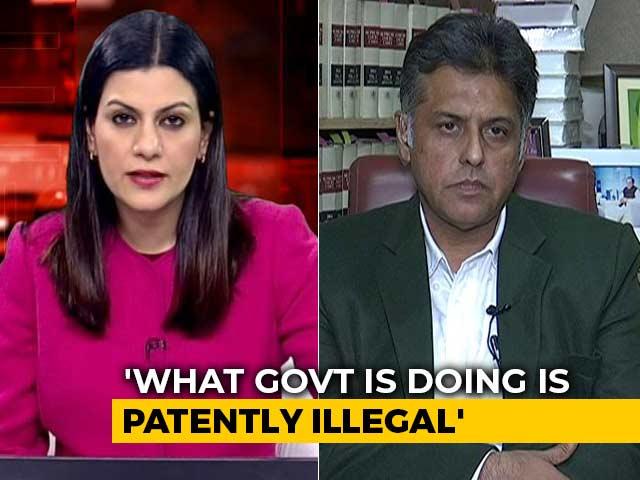 "Video : ""Hope Sena Will See Non-Constitutionality Of Citizenship Bill"": Manish Tewari"