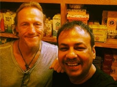 Viral Pic: Actor Jerome Flynn, <I>Game Of Thrones</i>' Ser Bronn, Spotted At Mumbai Cafe