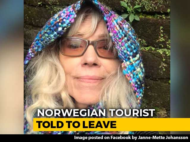 "Video : ""Told To Leave Country"": Norwegian Tourist After Protest Pics On FB"