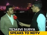 "Video : ""Not A Case Of Majority vs Morality"": BJP's Tejasvi Surya On Citizenship Bill"