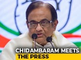 "Video : ""Slept On Wooden Board... Stronger In Spirit And Body"": P Chidambaram"
