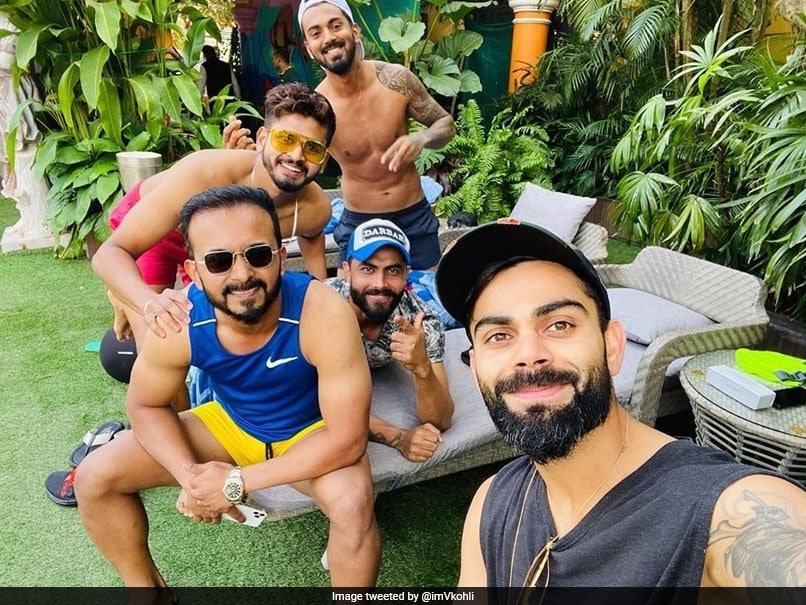 "Virat Kohli Enjoys Off Day With ""The Boys"" Ahead Of 3rd ODI Against West Indies"