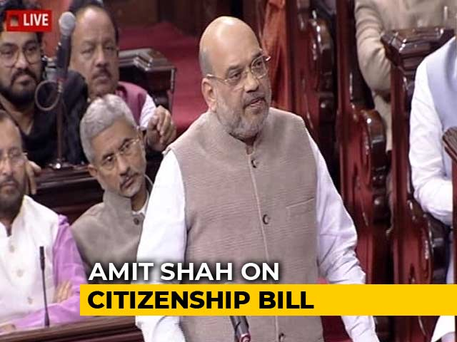 Video : Congress Leaders Echoed Pak On Article 370, Citizenship Bill: Amit Shah