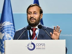 "India ""Walking The Talk"" On Climate Change Commitments: Prakash Javadekar At COP 25"