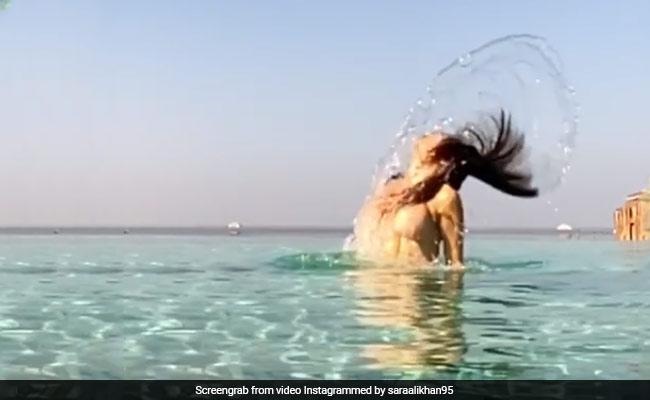 Viral Video: মালদ্বীপে ছুটির মেজাজে উষ্ণতা ছড়াচ্ছেন সারা, কিন্তু সঙ্গী কে?