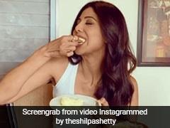 शिल्पा शेट्टी ने डाइट भूल चटखारे लेकर खाई मक्खन मलाई, Video पोस्ट कर फैन्स को दी ये सलाह