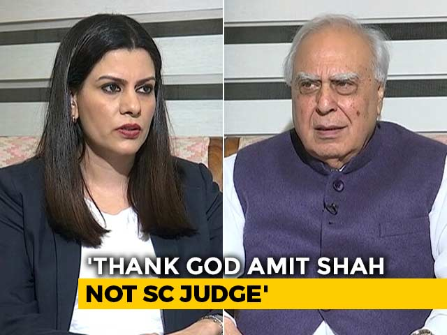 """Video : """"PM Has Said Too Many Things, All Wrong"""": Kapil Sibal On Citizenship Bill"""