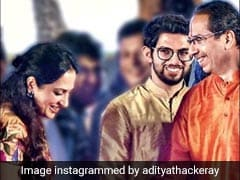 "Aaditya Thackeray's ""Surreal"" Insta Pic From Father's Oath Event"