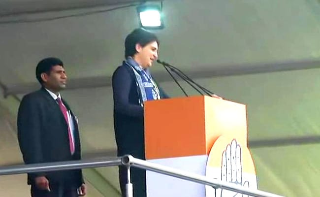 One Who Doesn't Fight Injustice Will Be Judged As Coward: Priyanka Gandhi