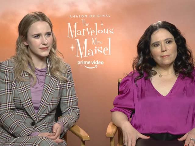 Response To The Marvelous Mrs. Maisel Is Beyond Expectations: Rachel Brosnahan