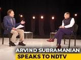 "Video : ""Not Just Any Ordinary Economic Slowdown,"" Arvind Subramanian Tells Prannoy Roy"