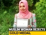 Video : Student Rejects Gold Medal To Protest Against Citizenship Law