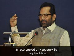 PM Modi Icon Of Our Constitutional Commitment To Secularism: Mukhtar Abbas Naqvi