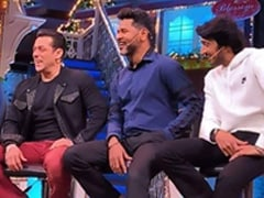 Salman Khan, Kiccha Sudeep, Sonakshi Sinha Had A <I>Dabangg</i> Time On <I>The Kapil Sharma Show</I>