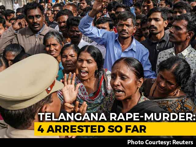 """Video : """"They Poured Whiskey Into Her Mouth To..."""": Cops On Telangana Rape, Murder"""