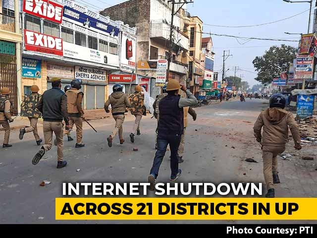 Video : No Internet In 21 Of 75 Districts In UP Over Citizenship Law Protests