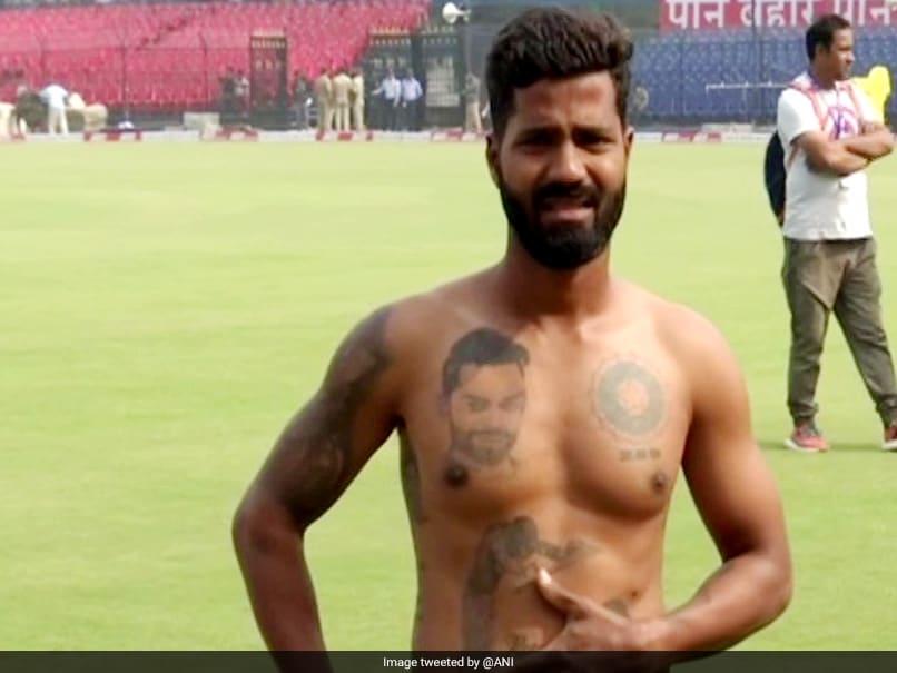 Meet Virat Kohlis Fan Who Has 16 Tattoos Dedicated To Indian Captain