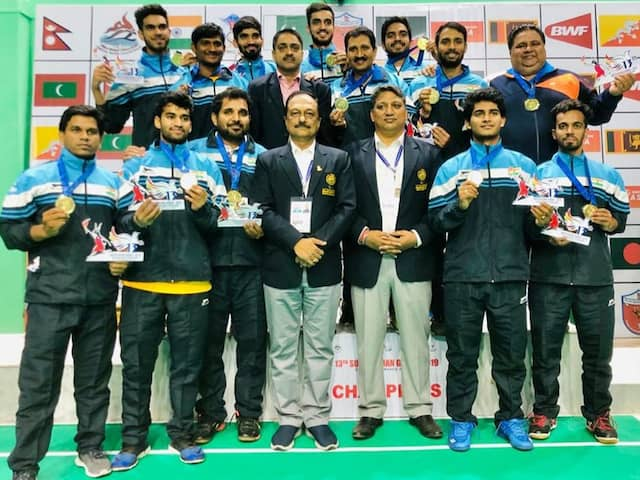 Indian Mens, Womens Badminton Teams Win Gold Medals In South Asian Games