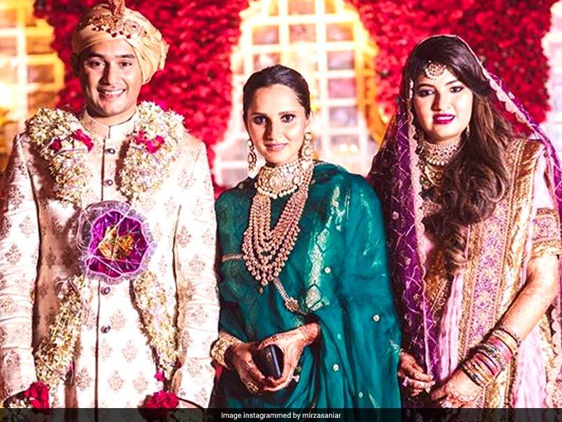 Sania Mirza's sister Anam marries Mohammad  Azharuddin's son Asad