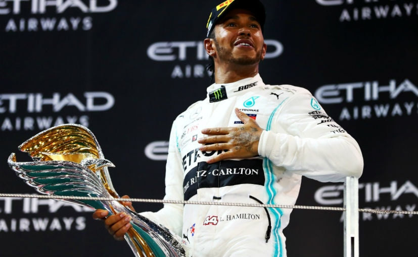 FORMULA-1: Lewis Hamilton finishes the session with victory and equals own record