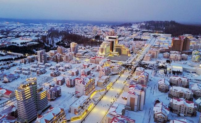North Korea's Kim Jong Un Unveils Newly-Reconstructed 'Utopia' Town