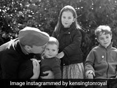 On Christmas, Kensington Palace Shares Adorable Pic Of Prince William With Children