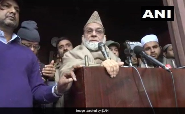 Citizenship Law Has 'Nothing To Do With India's Muslims': Shahi Imam