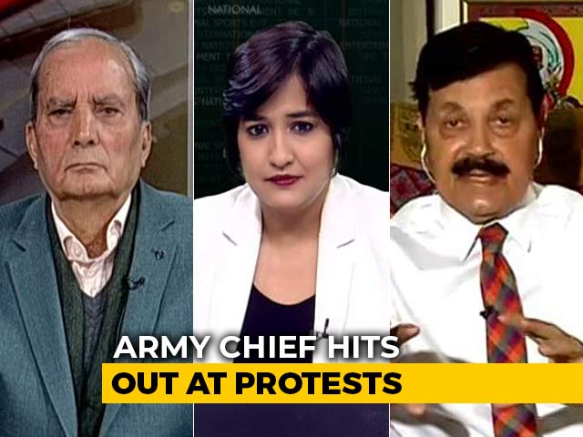 Video : Army Chief's Comments Spark Controversy