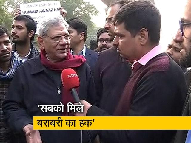 Videos : धर्म के नाम पर बंटवारा कर रही है सरकार: सीताराम येचुरी
