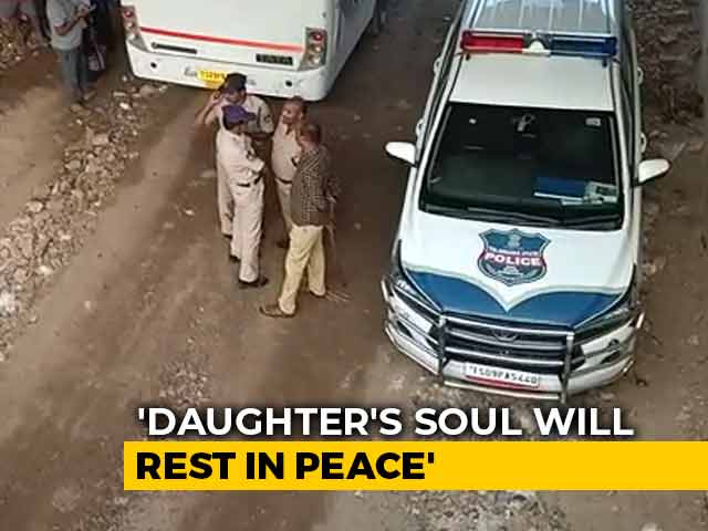 "Video : ""Her Soul Must Be At Peace"": Telangana Woman's Family Thank Police"