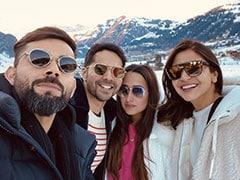 When Anushka Sharma And Virat Kohli Bumped Into Varun Dhawan And Natasha Dalal