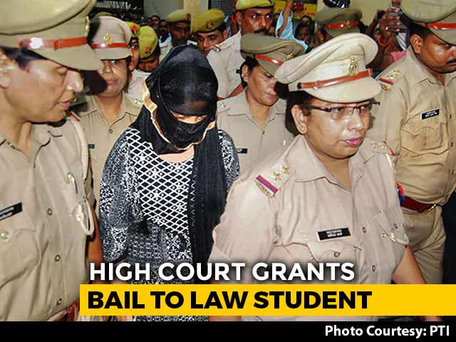 Video : UP Student Who Accused Chinmayanand Of Rape Gets Bail After 2 Months
