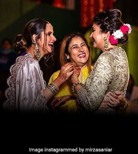 Sania Mirza Shares Pics From Day 2 Of Sister Anam's Wedding Celebrations