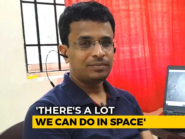 Video : Shanmuga Subramanian On Spotting The Moon Lander Debris To NDTV