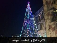 Mumbai Man Creates 'Smart' Christmas Tree In Memory Of Sister