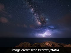 Lightning Strikes Beneath The Milky Way In NASA's Pic Of The Day