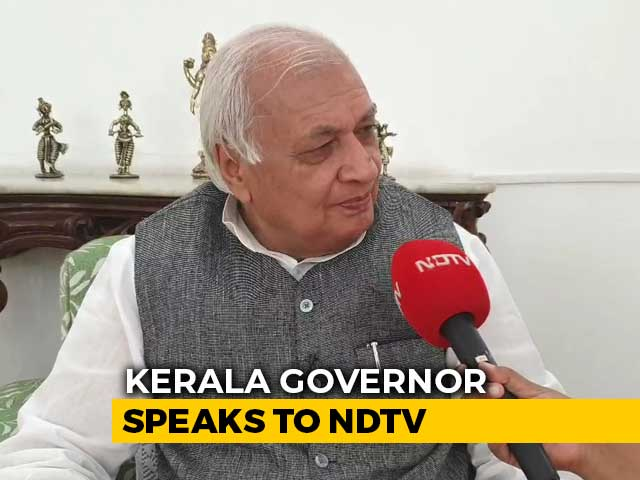Video : 'Should I Not Defend Act Passed By Parliament?': Kerala Governor