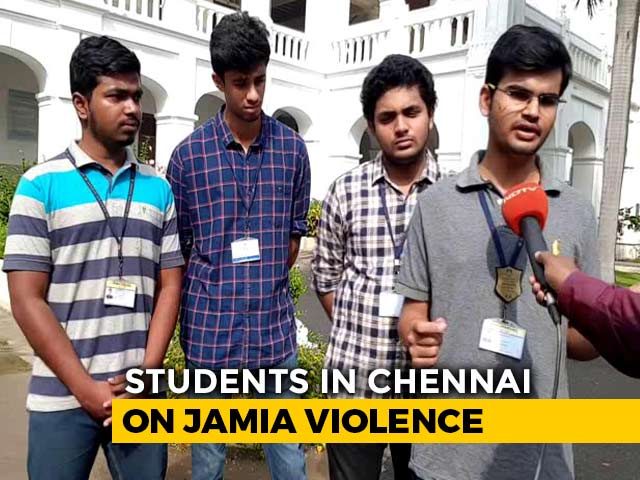 "Video : ""Want An Inclusive India,"" Say Chennai Students"