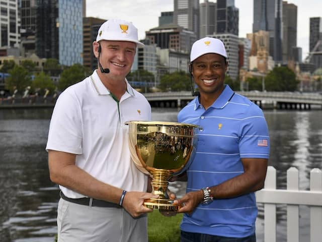 Ernie Els Itching To Upstage Old Rival Tiger Woods At Presidents Cup
