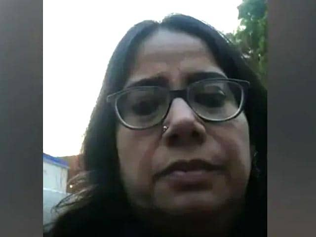 Video : Actress-Activist Arrested During Facebook Live, Lucknow Cops Deny Assault
